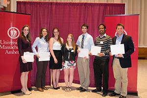Amherst, MA - Commonwealth Honors College Scholarships & Awards Reception