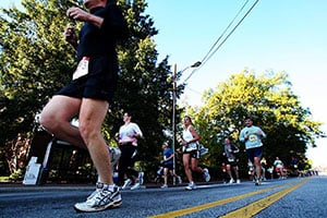Raleigh, NC - Volunteer at the City of Oaks Marathon