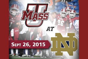 UMass vs. Notre Dame Football Travel & Game Packages