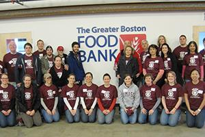 Boston, MA - Volunteer at the Greater Boston Food Bank