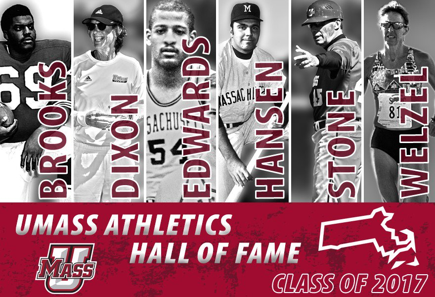 Amherst, MA - 2017 UMass Athletics Hall of Fame Induction Ceremony