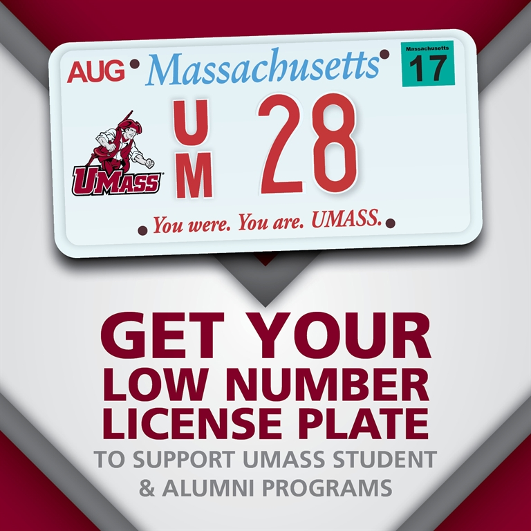 Low # License Plate promo