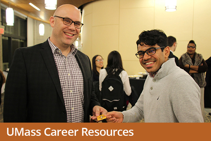 UMass Career resources promo